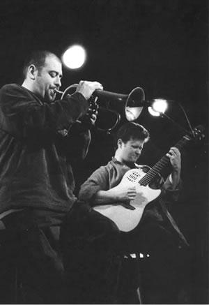 Stéphane Belmondo et Sylvain Luc
