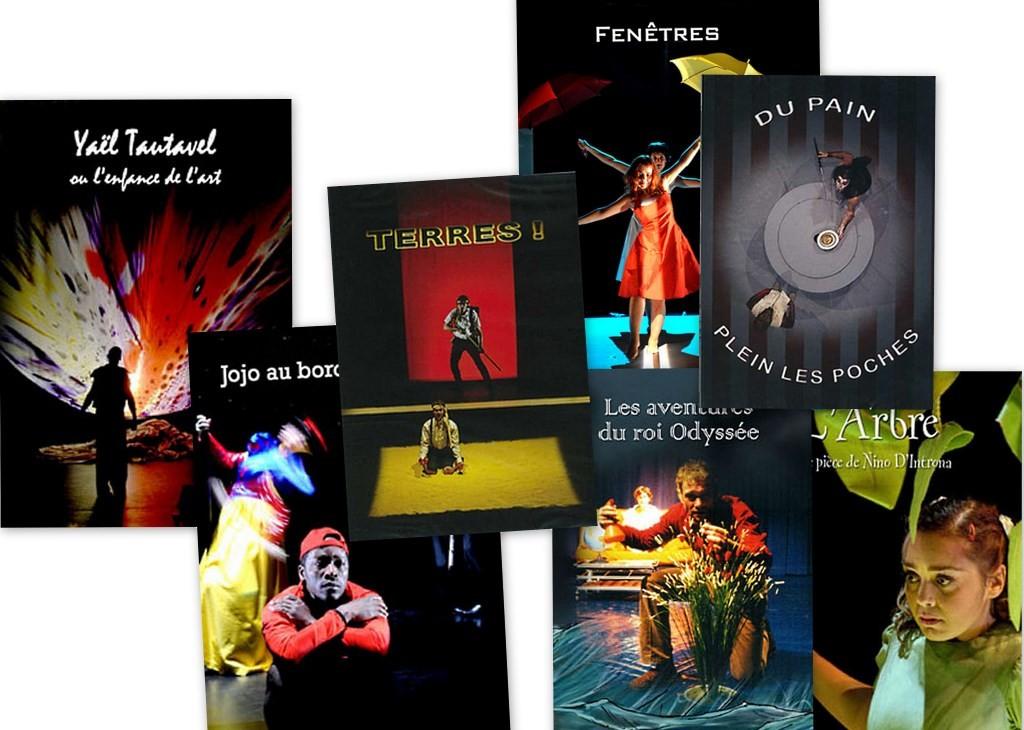 DVD des créations du TNG