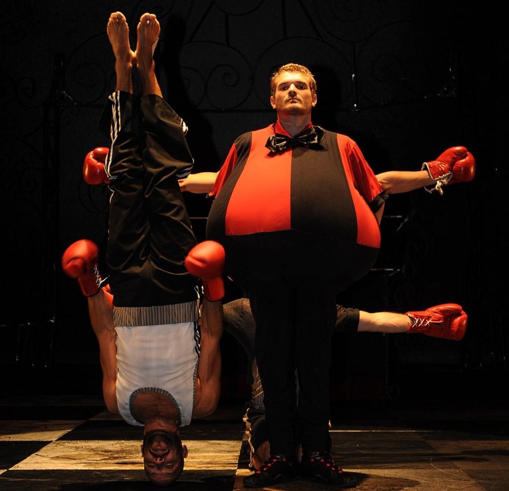 « Boxe boxe » © Michel Cavalca