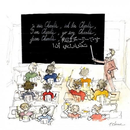 Je suis Charlie © Frédéric Chaume