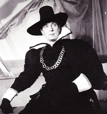 Louis Jouvet dans « Dom Juan », Athénée 1947 © Lipnitzi-Viollet