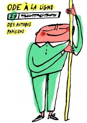 « Ode à la ligne 29 des autobus parisiens » © Hubert Poirot-Bourdain
