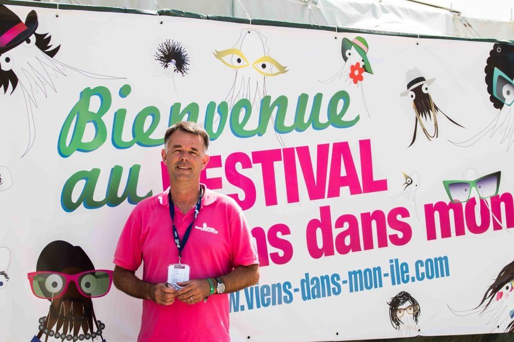 Antoine Grésillon, directeur de Viens dans mon île © Rodrigue Laurent
