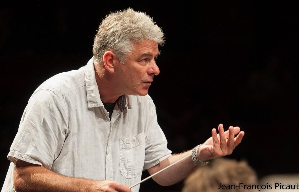 Grant Llewellyn en répétition © Jean‑François Picaut
