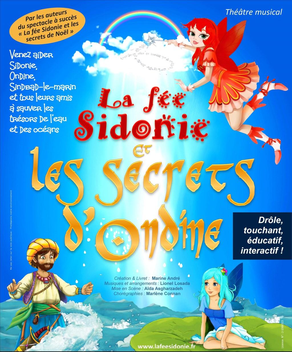 « la Fée Sidonie et les Secrets d'Ondine »
