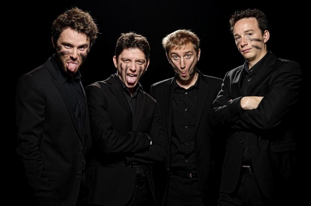 David Enhco, Bastien Ballaz, Jon Boutellier, Fred Nardin © Bruno Belleudy