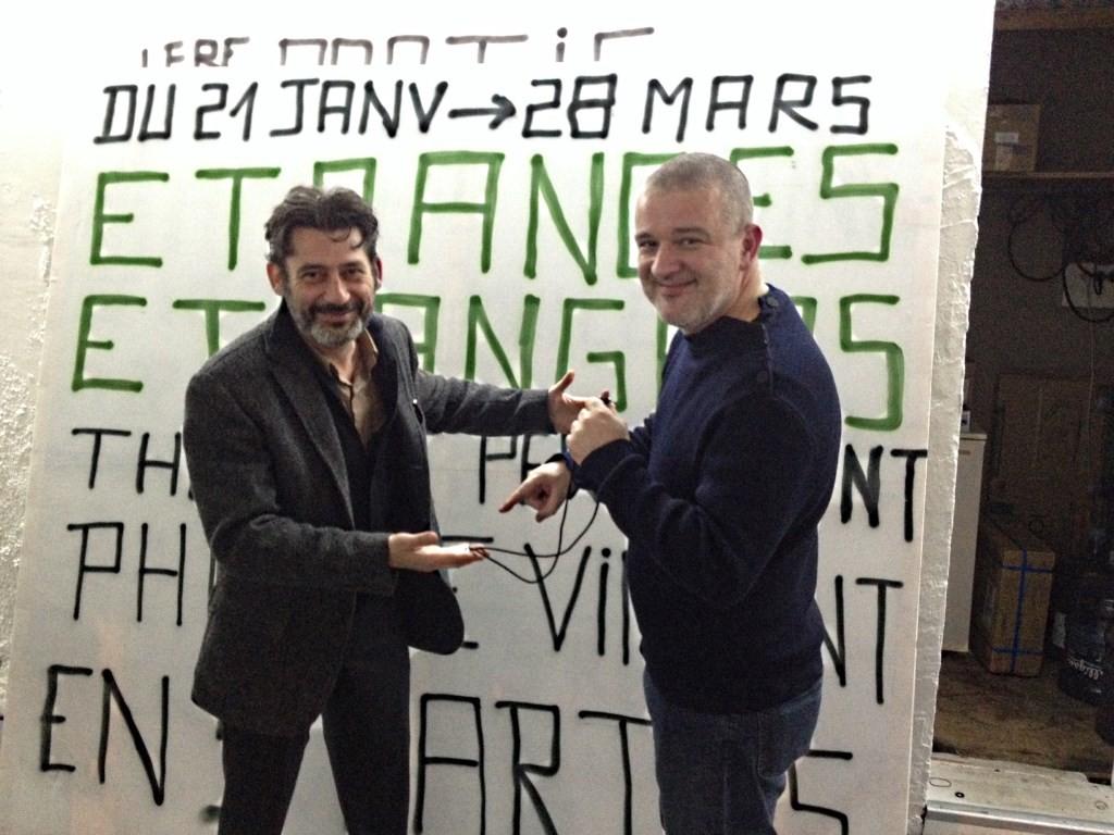 Philippe Vincent et Gwenaël Morin © D.R.