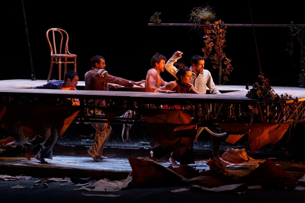 Du goudron et des plumes de mathurin bolze th tre - Les trois coups au theatre ...