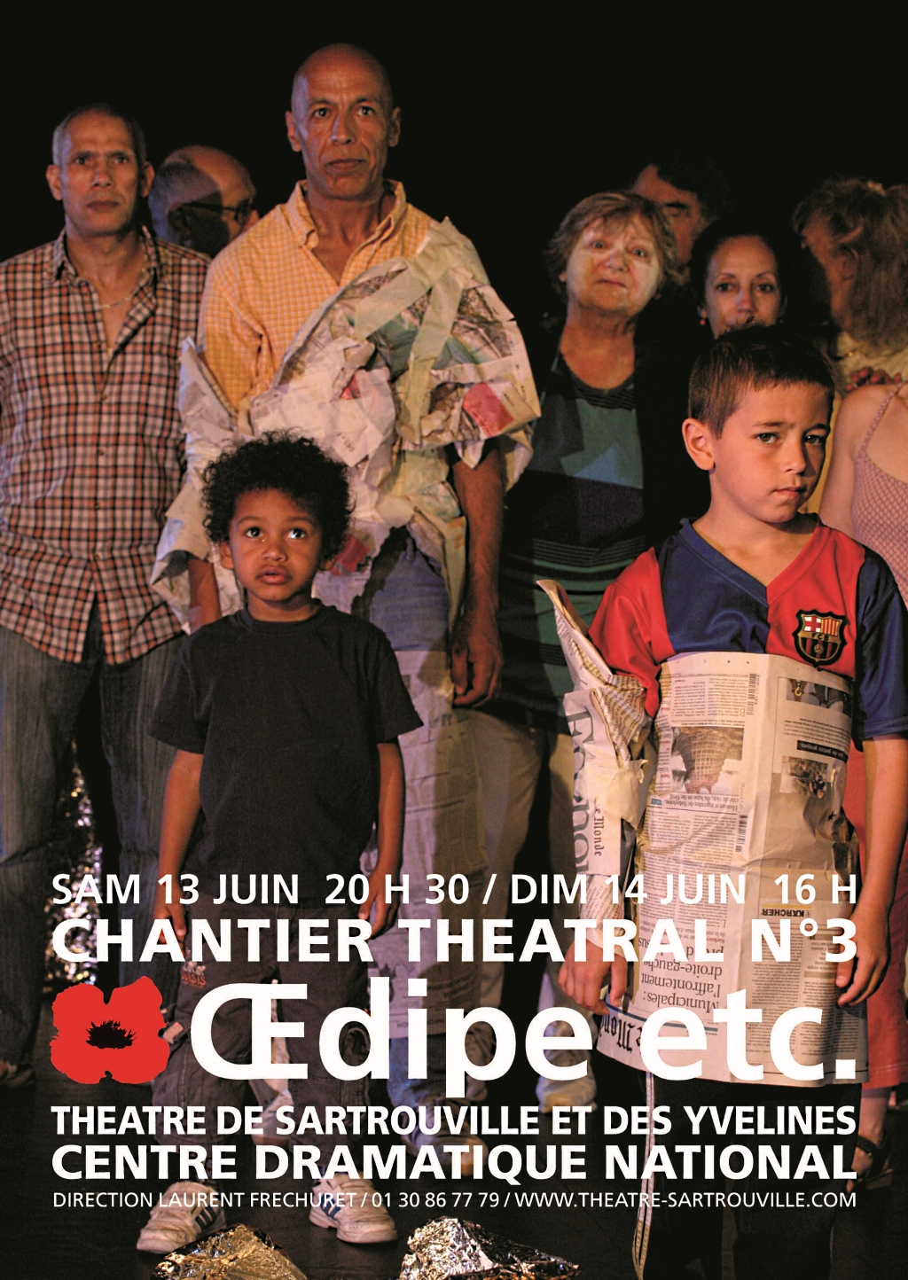 « Œdipe, etc.»-affiche