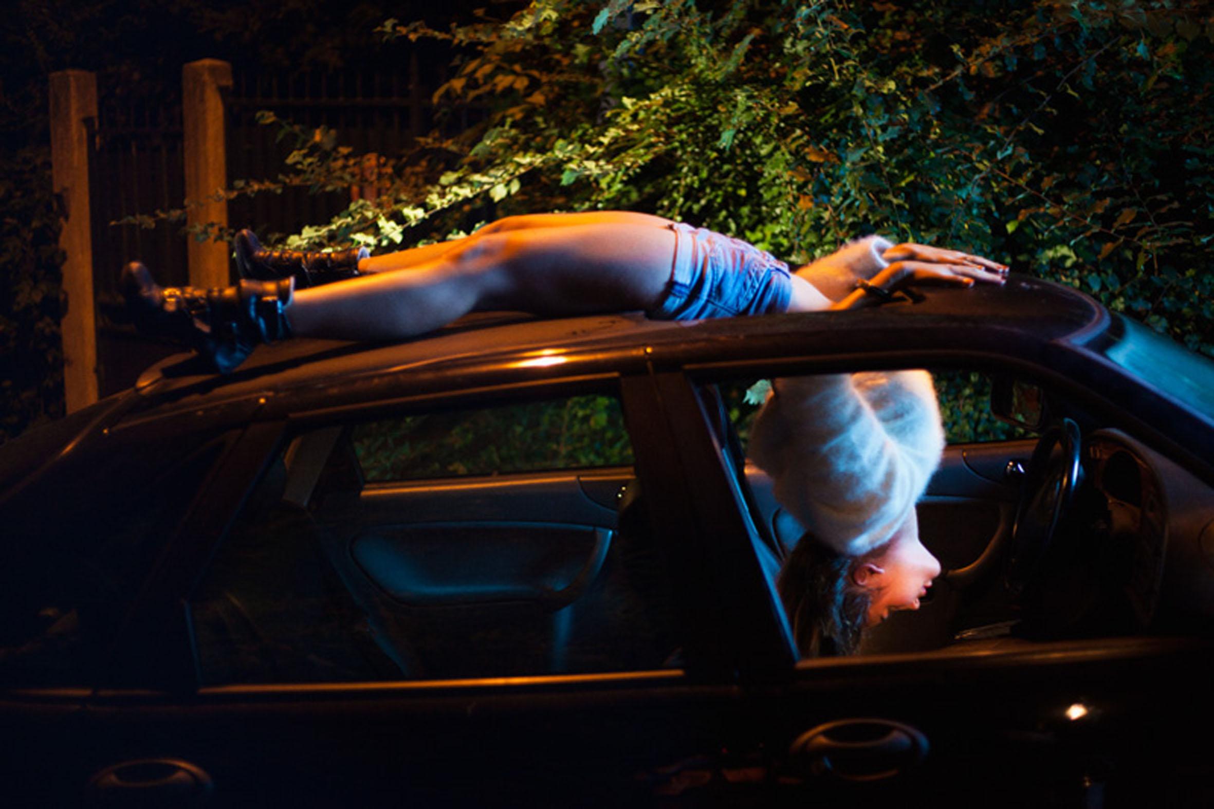 « La nuit a son existence » de la compagnie LU² © Axelle Manfrini