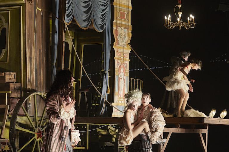 « Die Kabale », d'après Mikhaïl Boulgakov, mis en scène par Frank Castorf © Christophe Raynaud De Lage