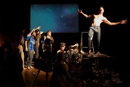 « Roberto Zucco », de Bernard-Marie Koltès et « Prologue. Sur le théâtre » de Didier-Georges Gabily © Christophe Raynaud de Lage