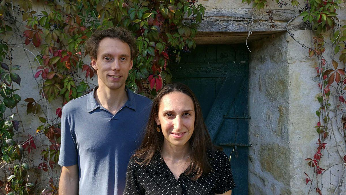 Johanna Silberstein et Matthieu Roy