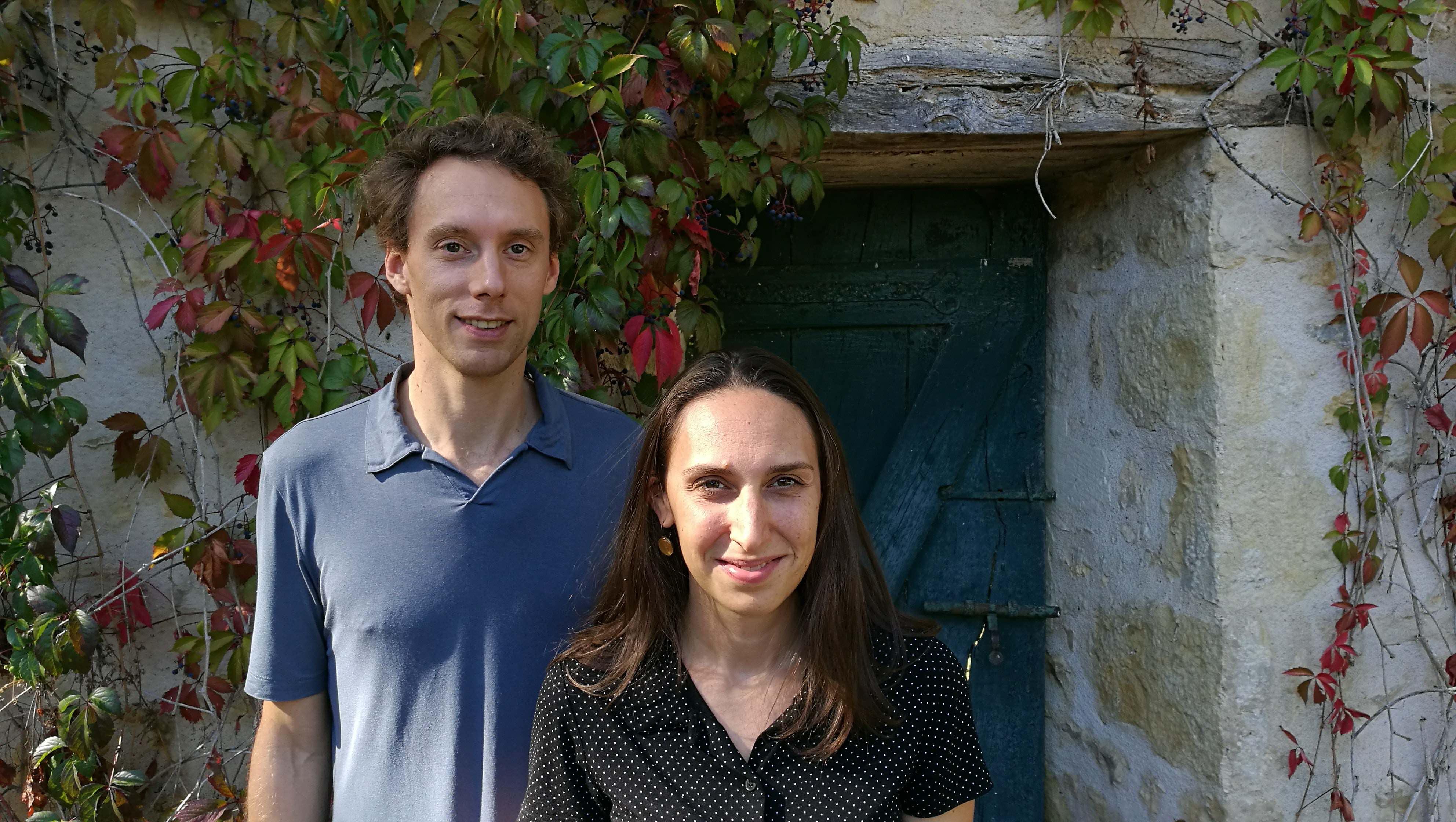 Matthieu Roy et Johanna Silberstein