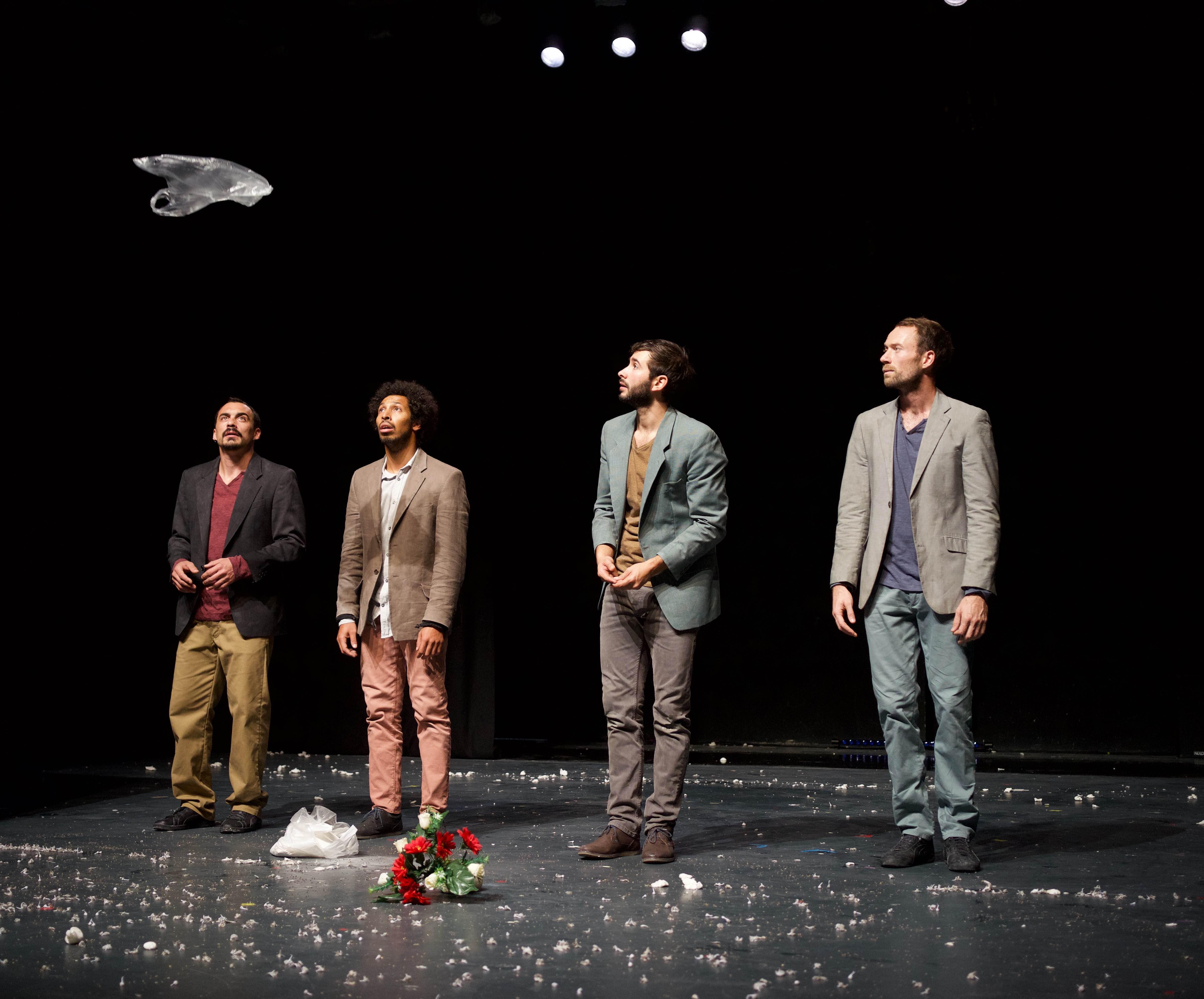« Optraken » de et avec le Galactik Ensemble © Marie Fonte