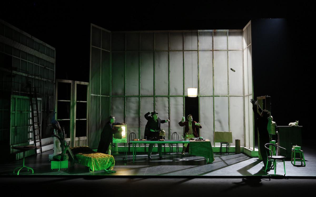 «LaFuite!» deMikhaïlBoulgakov dans une mise en scène de Macha Makeïeff © Pascal Victor/ ArtcomPresse