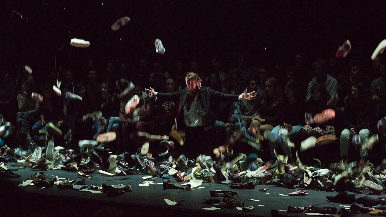 «Margot » d'après Christopher Marlowe – Mise en scène de Laurent Brethome ©Philippe Bertheau