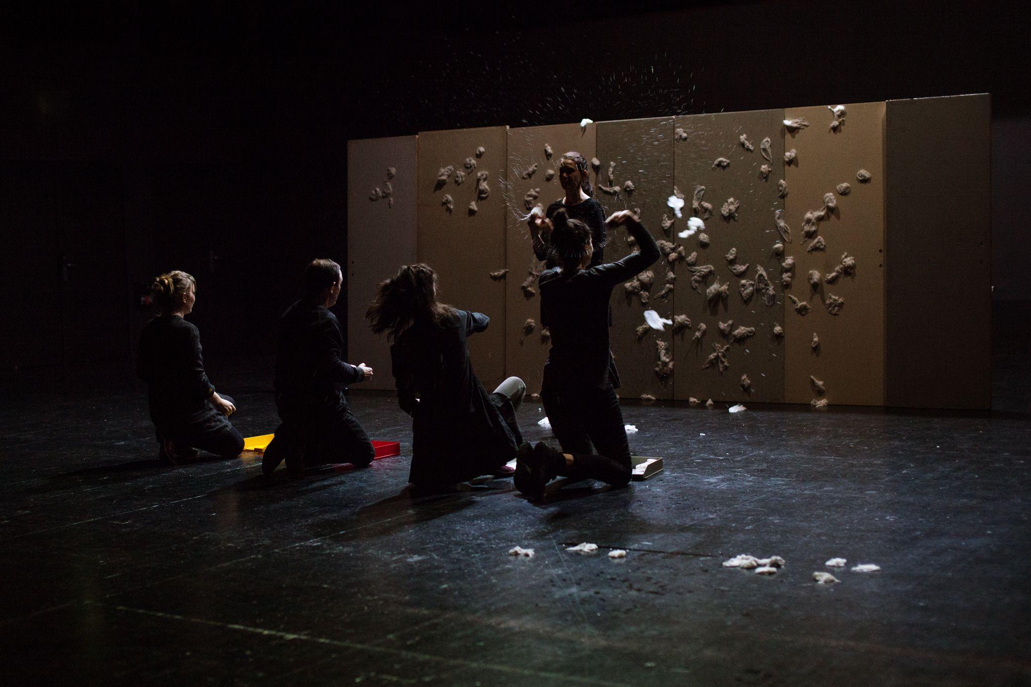 D cris ravage d adeline rosenstein th tre de la - Les trois coups au theatre ...