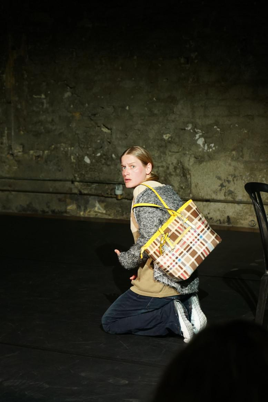 « Ventre » de Pauline Coffre et Samuel Pivo – mise en scène de Ewen Crovella et Maxime Mansion © Maxime Mansion