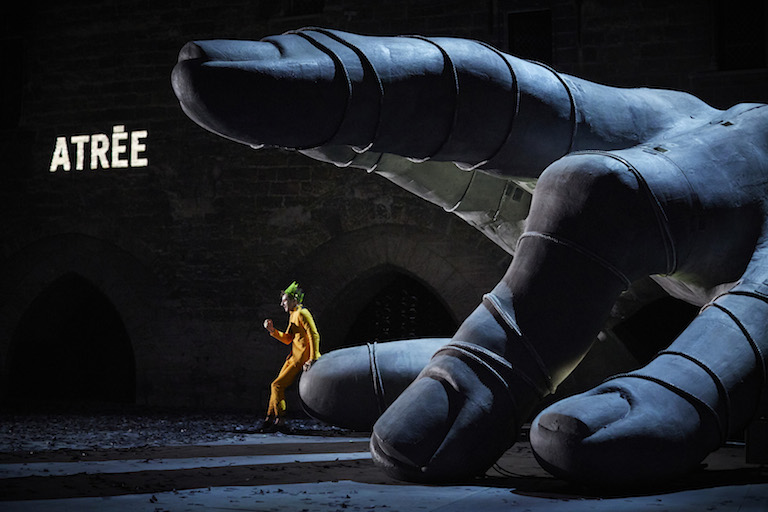 « Thyeste » de et avec Thomas Jolly © Christophe Raynaud de Lage