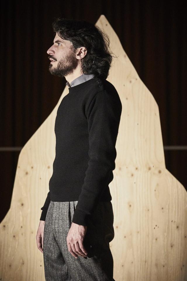 Simon Delétang dans « Lenz » de Georg Büchner© Christophe Raynaud de Lage