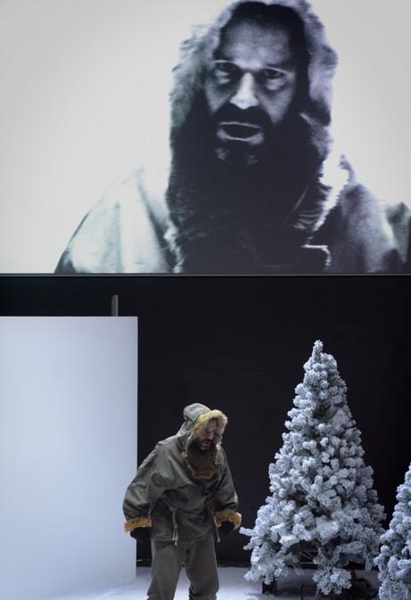 «Construire un feu » d'après Jack London – mise en scène Marc Lainé © Vincent Pontet