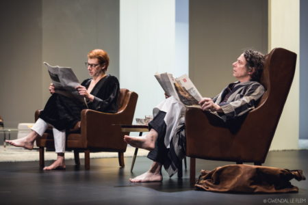 « La Collection » de Harold Pinter – Mise en scène de Ludovic Lagarde © Gwendal Le Flem