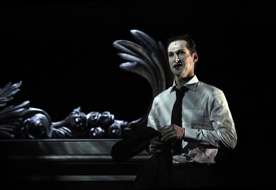 « le Rosaire des voluptés épineuses » de Stanislas Rodanski – Mise en scène de Georges Lavaudant, © Marie Clauzade