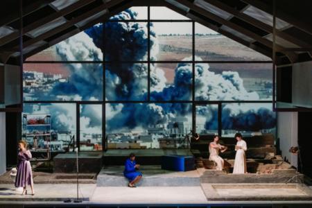 «Didon et Enée, remembered» – Mise en scène de DavidMarton, © BlandineSoulage