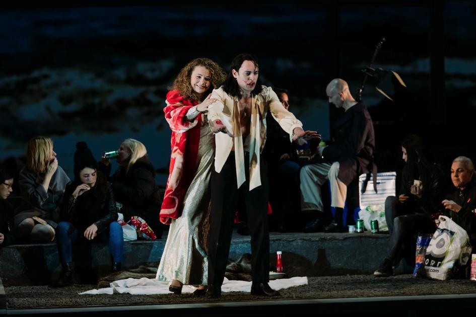 «Didon et Enée, remembered», mise en scène de DavidMarton, © BlandineSoulage