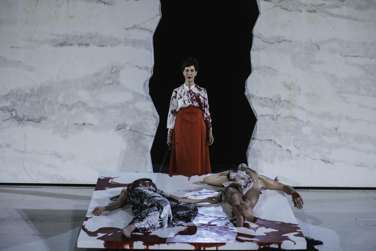 L'Orestie, d'après Eschyle – Mise en scène de Georges Lavaudant ©Paul Bourdrel