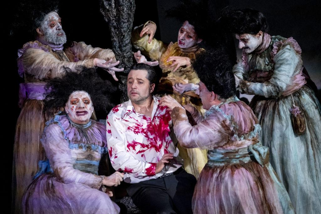 L'Orestie, d'après Eschyle – Mise en scène de Georges Lavaudant ©Bruno Amsellem
