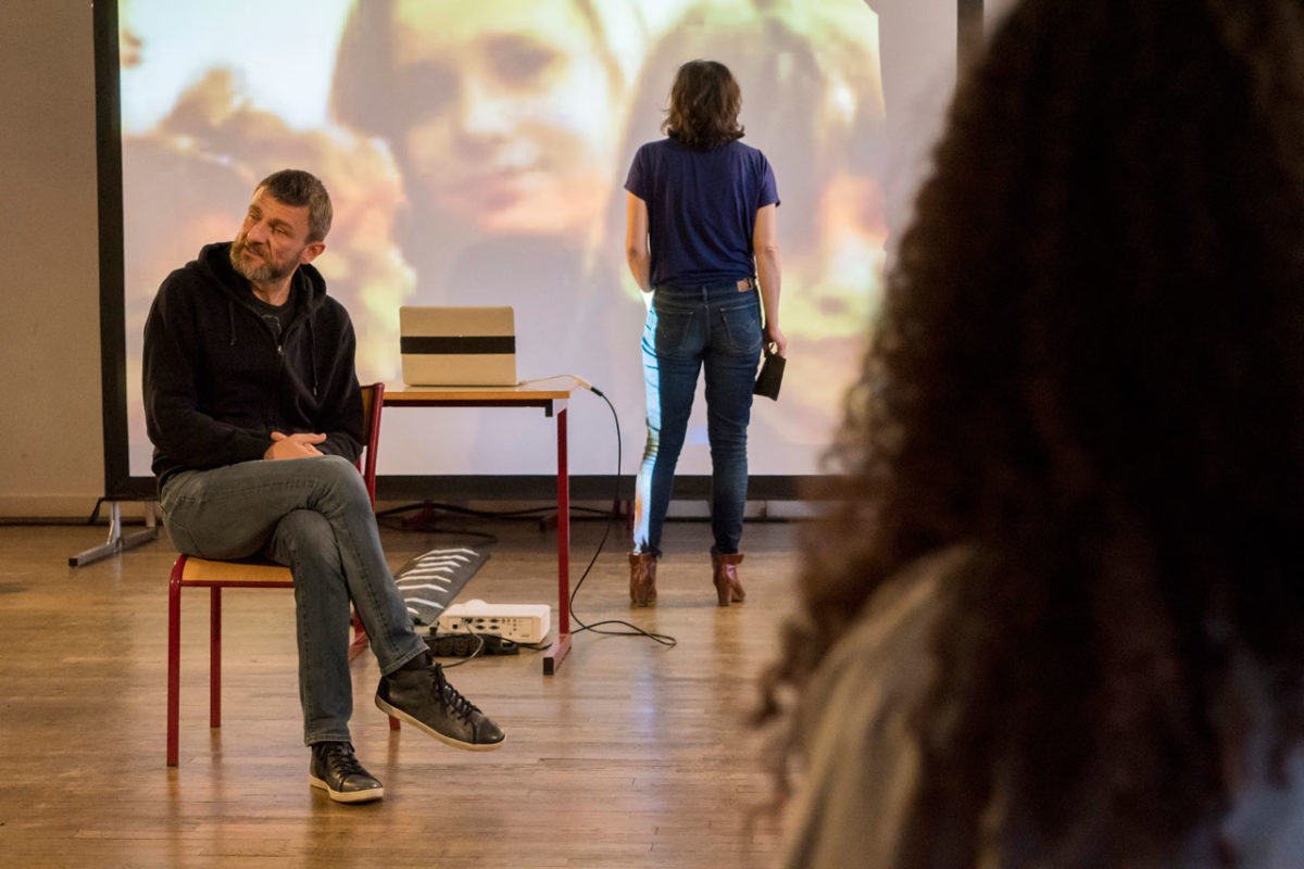« Les Imposteurs » d'Alexandre Koutchevsky, avec Régis Laroche et Isabelle Ronayette © Eric Chenal