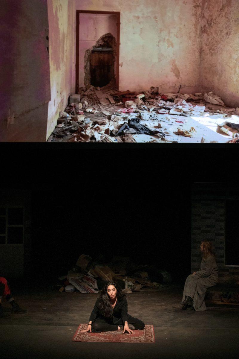"""Oreste à Mossoul"" de Milo Ray © NTGent"