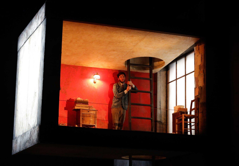 «Un instant» d'après MarcelProust – Mise en scène de Jean Bellorini ©VictorPascal