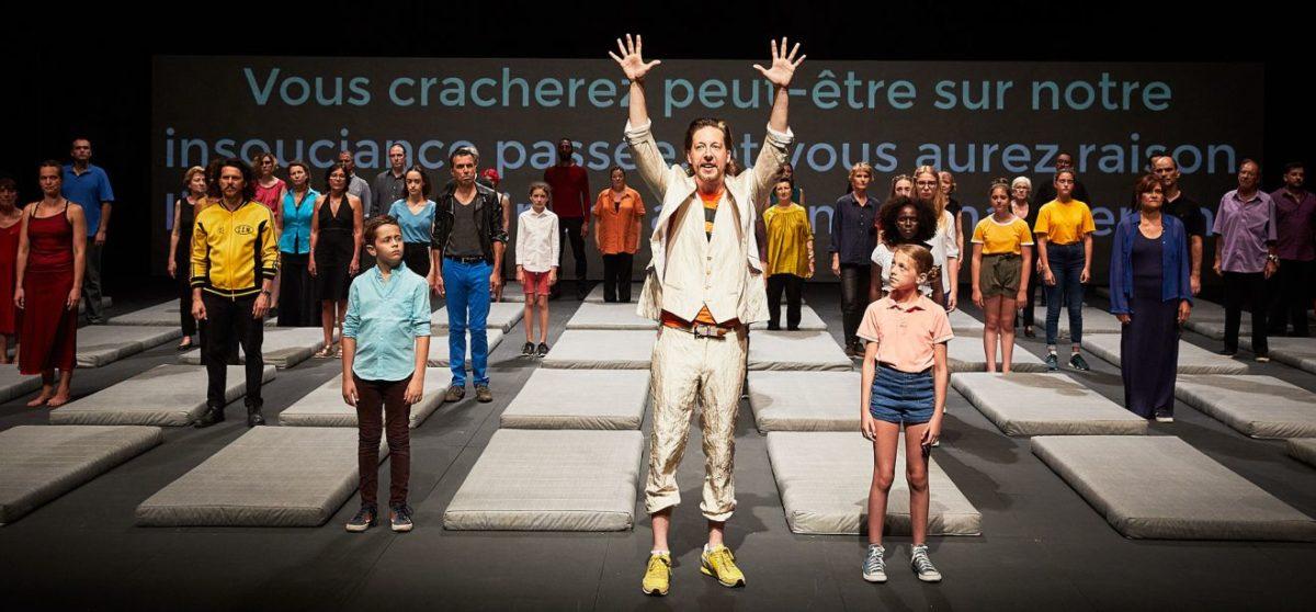 Nous-l-Europe-banquet-des-peuples-Laurent-Gaudé-Roland-Auzet © Christophe Raynaud de Lage