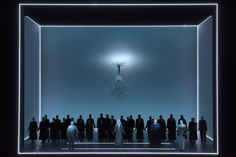« Der Messias » de Robert Wilson © Vincent Pontet