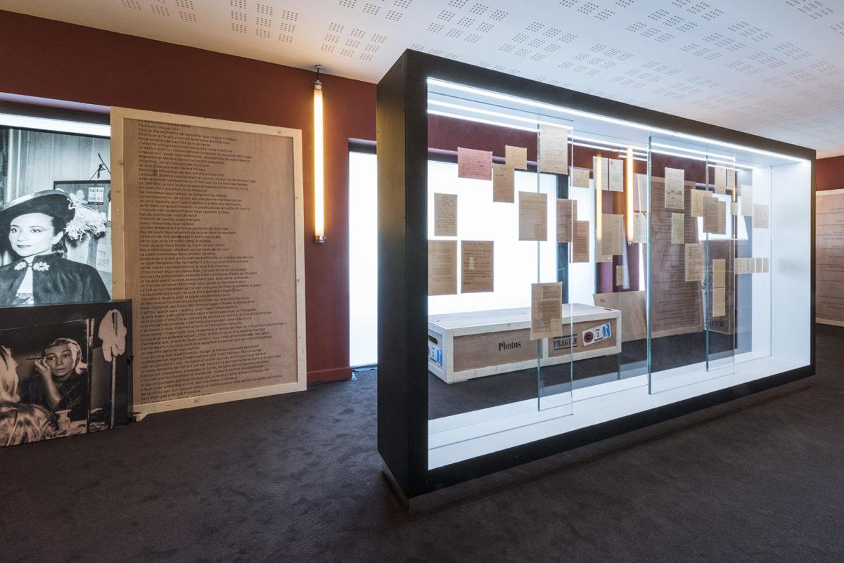 Ce-soir-oui-tous-les-soirs-exposition-Jean Vilar-TNP © Margot Laurens - Association Jean Vilar
