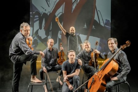 « Égérie(s) » Quatuor Debussy © Olivier Ramonteu