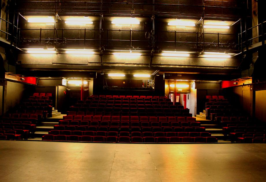 « Théâtre de la Bastille, salle du bas » © DR