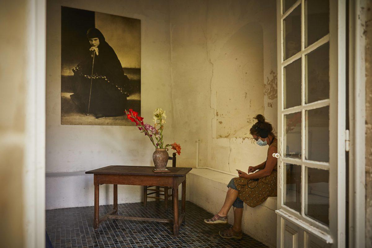 Visite contée « Fragments d'autre » © Christophe Raynaud de Lage