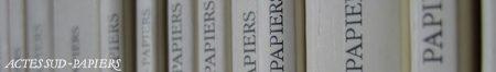 Actes Sud-Papiers