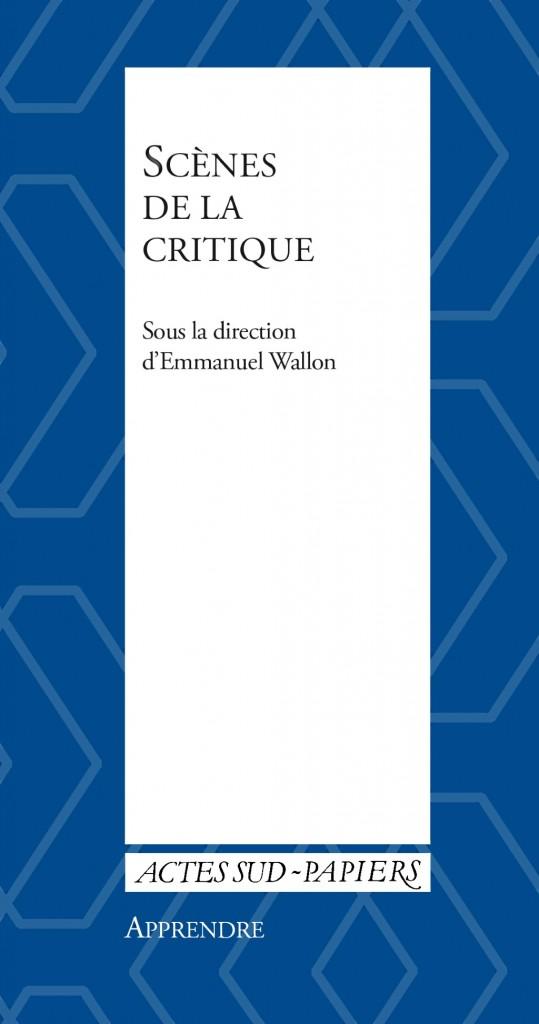 Scènes de la critique