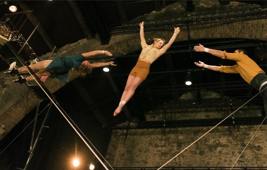 le Cirque Poussière © Vincent d'Eaubonne