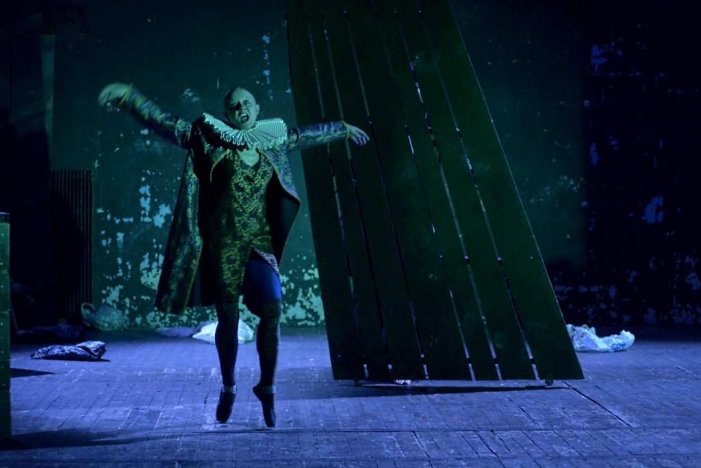 « Hamlet-machine », répétition © Pierre Grange