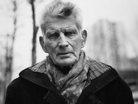 Samuel Beckett, Paris, 1985