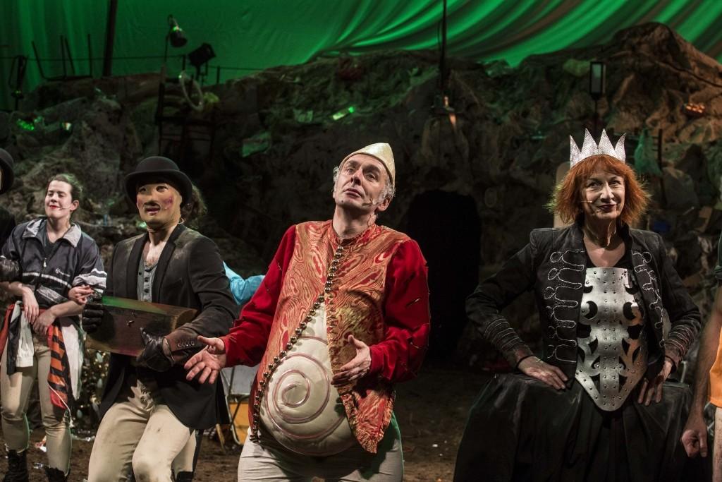 Ubu roi ou presque d alfred jarry th tre national - Les trois coups au theatre ...
