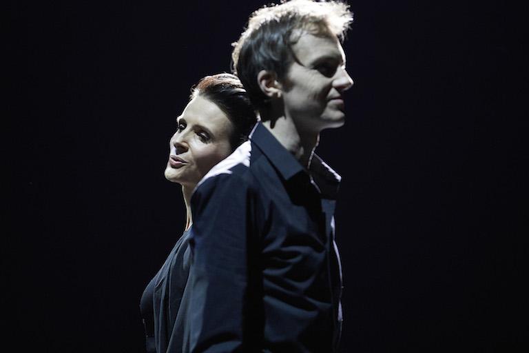 « Vaille que vivre (Barbara) », Juliette Binoche et Alexandre Tharaud © Christophe Raynaud de Lage