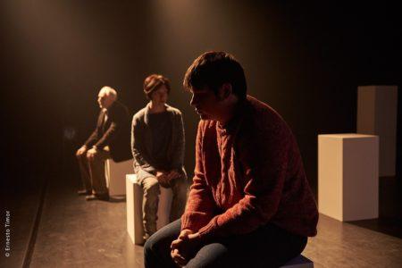 « Mirad, un garçon de Bosnie » d'Ed de Bont – mise en scène de Christophe Laluque © Ernesto Timor