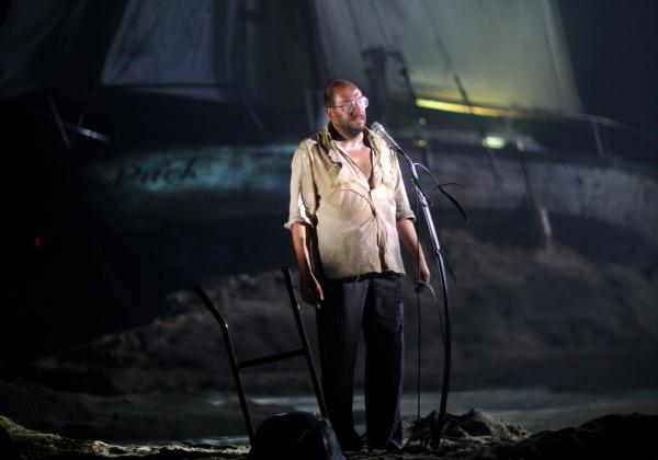 « Les Naufragés » de Patrick Declerck – Mise en scène d'Emmanuel Meirieu © Loll Willems